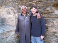 Takht-i-Bahi caretaker and Robby