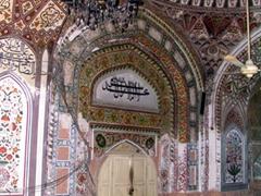 Interior of Mahabat Khan Mosque