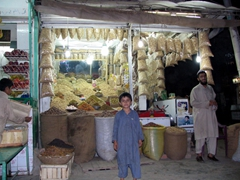 Whole grains for sale, Peshawar