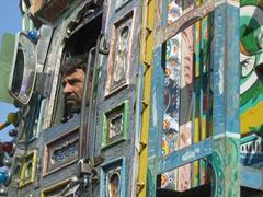 Profile of a Pakistani jingle truck driver