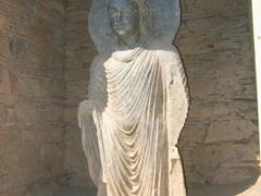 Buddha statue at Takht-i-Bahi