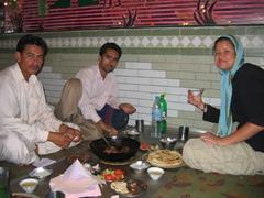 Enjoying dinner, Peshawar