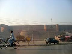 The imposing Bala Hisar Fort, Peshawar