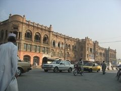 Beautiful buildings abound in Peshawar