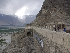 Its worth the 20 minute hike up to Kharphocho Fort for the amazing views all around