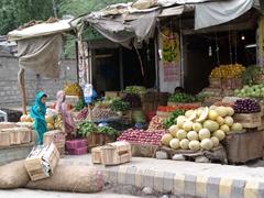 One last look at Skardu's plentiful fruit/vegetables before we depart for Khapulo