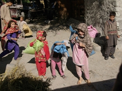 These girls ran out to check us out as we were departing for Keris; near the Karakoram Lodge in Khaplu