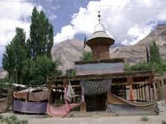 The holy shrine of the Hazrat Meer Muktar-E-Akhyar