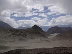 The landscape is absolutely mesmerizing on the drive from Keris to Shigar