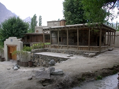 Shigar Fort is a lovingly restored project bringing the former Raja of Shigar's timber/stone palace to its former glory