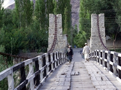 Shigar is a nice place to visit...not much traffic, and peaceful village life