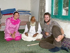We visit Shigar's oldest resident, a hardy 106 year old who claims eating Ibex is the secret to longevity