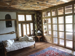 The master bedroom makes us want to splurge for a night's stay here; Shigar Fort