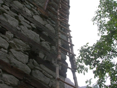 The Shigar Fort is undergoing constant TLC