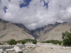 The scenery near Gulab Pur is mind boggling