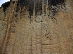 The Skardu Buddha dates from the 7th Century