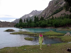 Becky thought Naltar was one of the prettiest places in Northern Pakistan