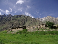 Upper Naltar is a popular destination in the summer...would you believe all the hotels were fully booked shortly after we checked into the 4 View Hotel?