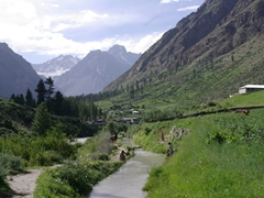 Villagers live in Naltar year round, although we can certainly see its appeal in the summer