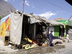 Bazaar near Gilgit