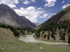 Gorgeous veiws abound in Naltar