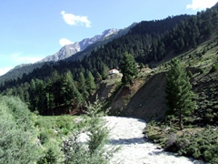 After enjoying our time around Naltar Lake, we headed back down to check into our hotel