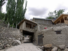 Its an easy uphill stroll to reach Baltit Fort