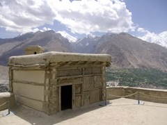 From the top of Baltit Fort, there is a fine bird's eye view of the Hunza Valley