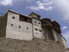 It is easy to imagine that Baltit is Hunza's ancient capital, with its magnificent fort