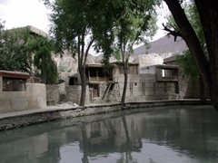 A view of Ganish Village, which won a UNESCO Asia Pacific Heritage award in 2002, and once functioned as a popular stop along the old Silk Route