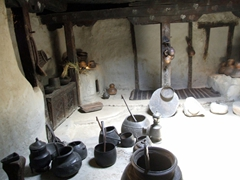 Interior kitchen; Baltit Fort