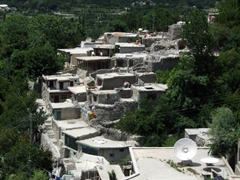A snapshot of Karimabad (below Baltit Fort)