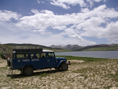 "A ""K2 Travel Service"" transports locals to Deosai National Park"