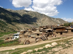 Surprisingly, within the Deosai National Park, there are a few small villages such as this one