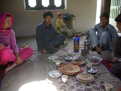 Happy Golden Jubilee Mubarek! We join Hasan Sha in his house for a hastily prepared lunch meal
