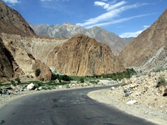 Even though it was a long ride, we enjoyed the route from Phander to Gilgit