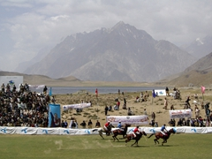 "The surrounding scenery is truly spectacular, and it was a privilege to watch ""polo on the rooftop of the world"""