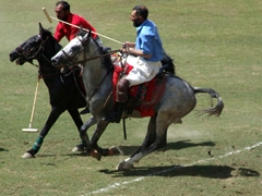 Polo is an enthralling sport