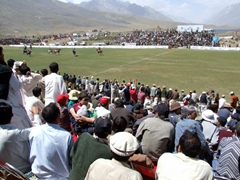 The Shandur Polo Festival draws huge numbers of local and foreign tourists
