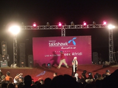 Evening entertainment at the Shandur Festival - Robby and Zia attend a Zeek Afridi concert