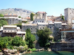 Bosnia's prettiest town is Mostar