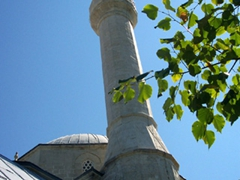 A common sight in Muslim dominated Mostar