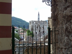 Quaint view of Mostar
