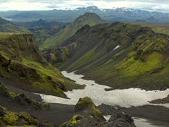 Stunning views abound in Thórsmörk