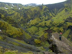 Gorgeous vistas in Thórsmörk...we can easily see why most Icelanders claim this to be their favorite place in Iceland! It is incredibly beautiful