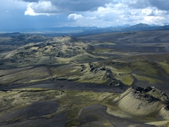 Another vantage point of the Lakigigar craters