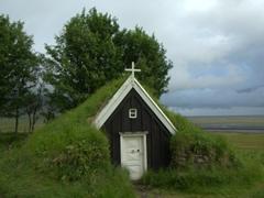 Núpsstaður Church (one of Iceland's UNESCO world heritage sites)