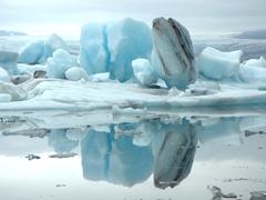 Beautiful icebergs at Jökulsárlón