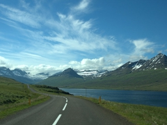 Get ready for lots of back and forth driving on the hairpin turns in the East Fjords