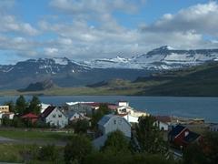 Welcome to Eskifjörður, population of 1,043